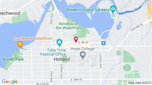 CityFlatsHotel - Holland Map