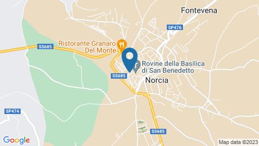 Palazzo Seneca Map