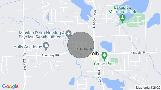 Cozy Holly House Map