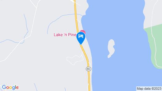 Bayside Inn & Marina Map