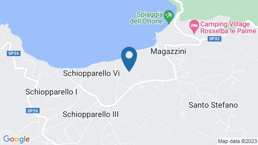 Hotel Fabricia Map