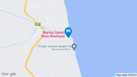 Marina Sands Bijou Boutique - Excellent Choice for Travelers Visiting Obzor 2-4p Map