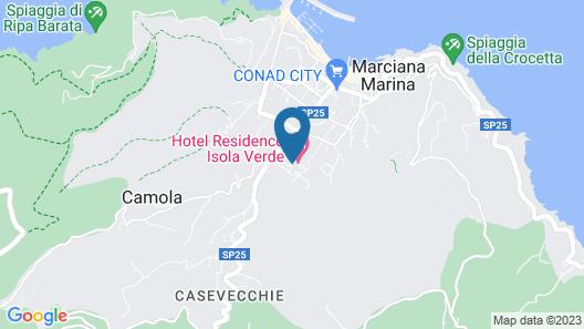 Isola Verde Map
