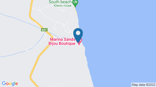 Marina Sands Bijou Boutique Hotel - All Inclusive Map
