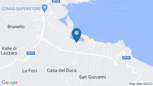 Hotel Airone Isola d'Elba Map