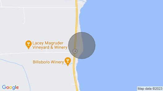 Wine Down Bungalow-Perfect For Two! Seneca Lake/Geneva. Your private lake break! Map