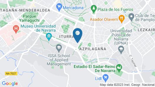 Acà Y Allà Ap. Alfonso El Batallador Map