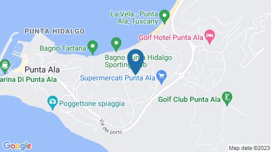 ARLI Hotel Hideaway Punta Ala Map