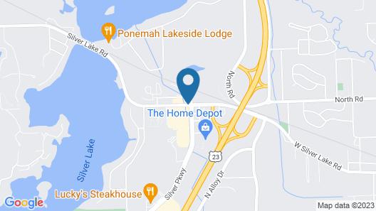 Fairfield Inn & Suites Flint Fenton Map