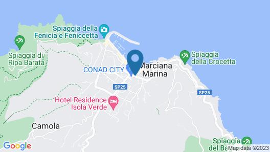 Marina Garden Hotel Map