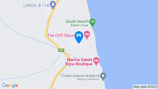 The Cliff Beach & SPA Hotel Map