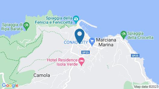 A Pochi Passi dal Mare di Marciana Marina Map