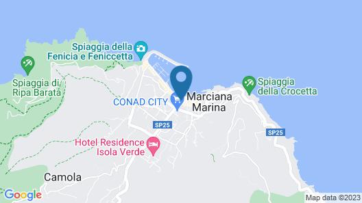 Hotel Imperia Map