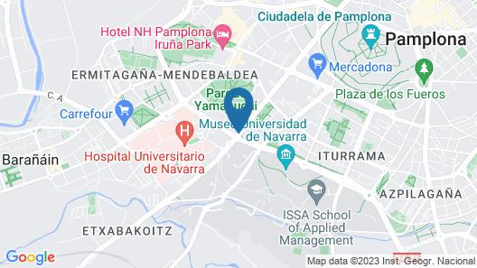 Alojamientos Olga Map