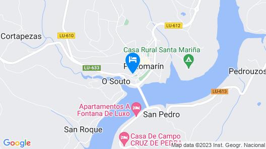 Hotel Pazo de Berbetoros Map