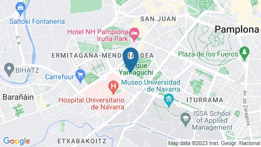Hotel Sancho Ramírez Map