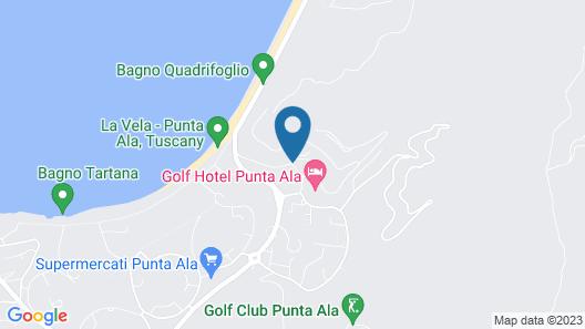 Gallia Palace Hotel Map