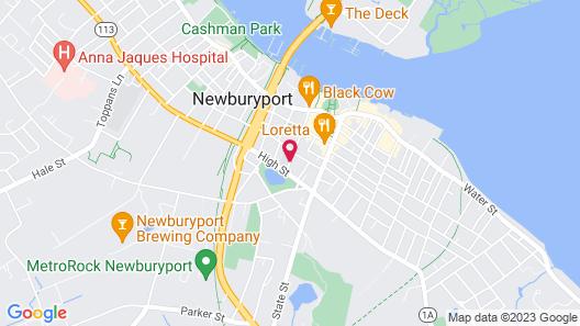 Clark Currier Inn Map