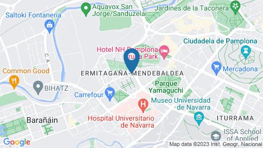 Hotel Albret Map