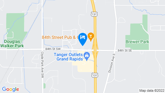 Baymont by Wyndham Grand Rapids SW/Byron Center Map