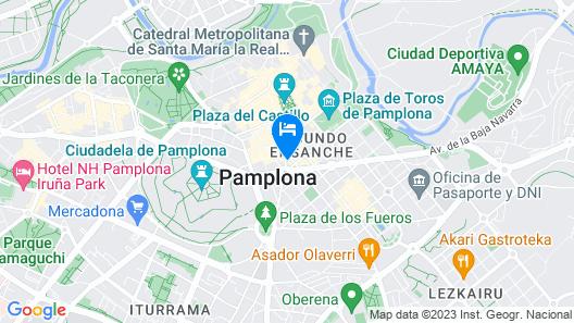 Hotel Yoldi Map