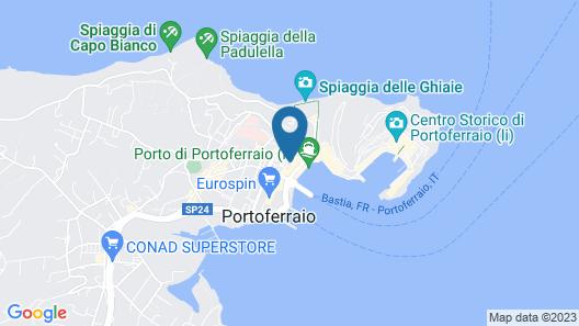 Appartamento Lo Scoglietto Map