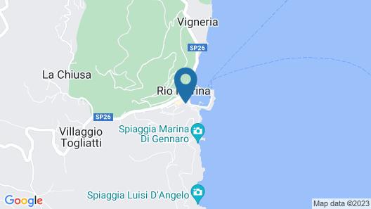 Hotel Rio Sul Mare Map