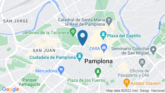 Hotel Tres Reyes Map