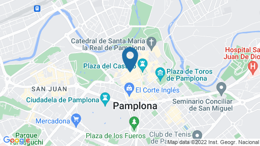 Palacio Guendulain Map
