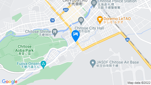 Hotel Grand Terrace Chitose Map