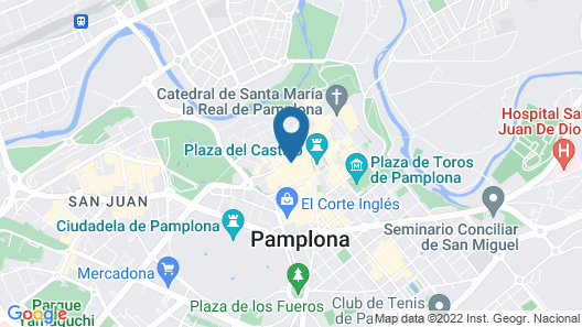 Zapa Palace Pamplona Map