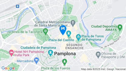 Hotel Maisonnave Map