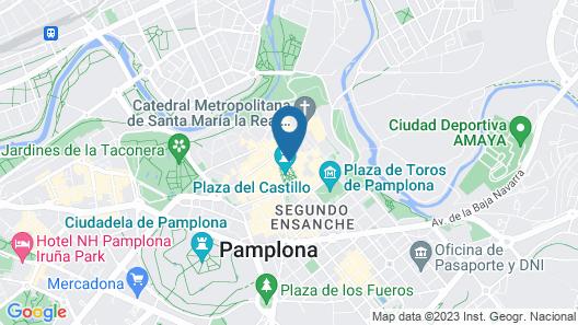 Gran Hotel La Perla Map