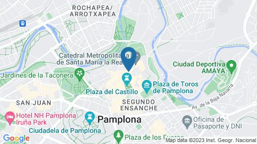 TuApartamento - Mercaderes 16 Map