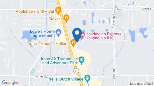 Hampton Inn Holland Map