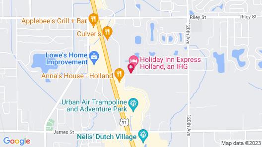 Holiday Inn Express Holland, an IHG Hotel Map
