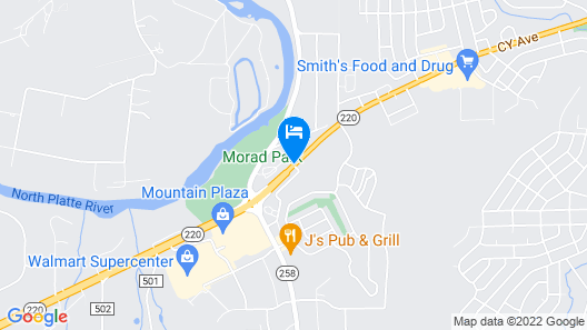 Super 8 by Wyndham Casper West by the River Map