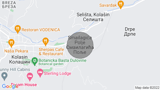 Guest House Balada Offers Pleasant Stay in Two-bedroom House With the Fireplace Map