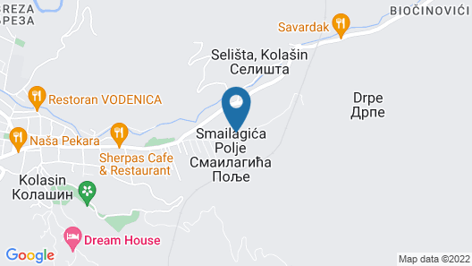 Holiday Home Bajka Map