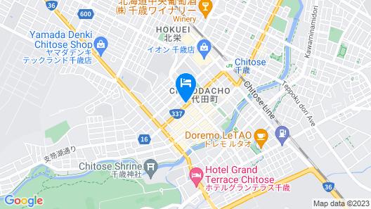 Best Western Plus Hotel Fino Chitose Map
