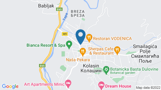 Four Points By Sheraton Kolasin Map