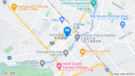 Queen's Hotel Chitose Map