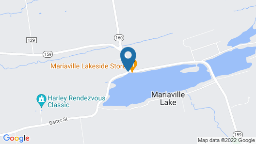 Mariaville Lake Bed and Breakfast Map