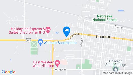 Motel Grand Map