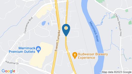 Quality Inn Merrimack - Nashua Map