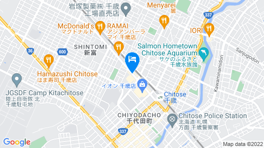 ANA Crowne Plaza Chitose Map