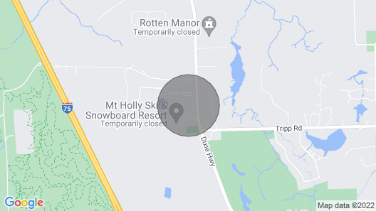 Updated Apartment- Near Genesys/ORV Park/Mt. Holly Map