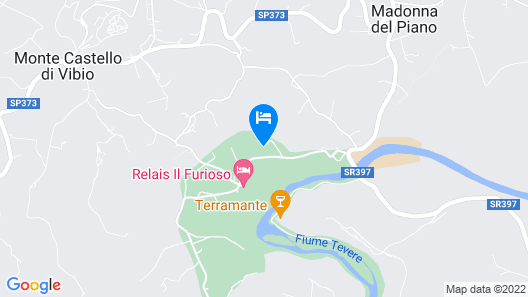 House With 4 Bedrooms in Monte Castello di Vibio, With Furnished Terrace Map