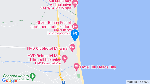 Obzor Beach Resort Map