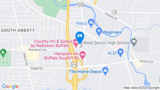 Staybridge Suites West Seneca, an IHG Hotel Map